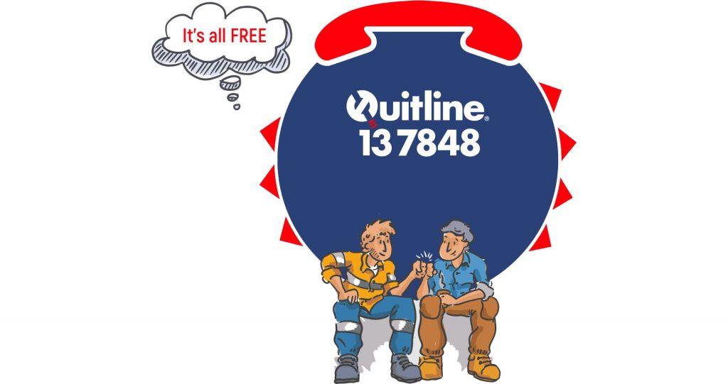 Contact Quitline 1