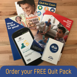 Order a free Quit Info Pack 1